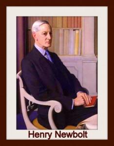 Sir Henry John Newbolt by Meredith Frampton
