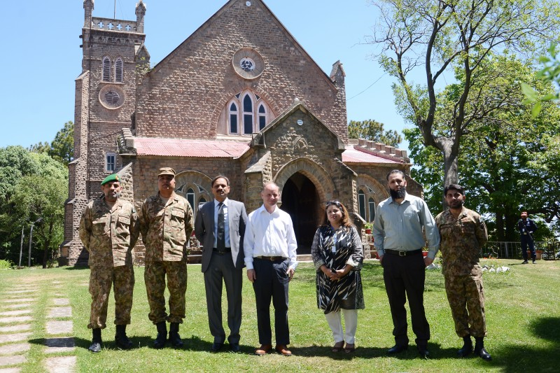 2016 UN Officials Visit Lawrence College Ghora Gali Murree