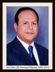 Air Cdre Farooq Kiyani
