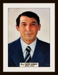 Brig Saeed Ahmed