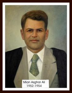 Mian Asghar Ali