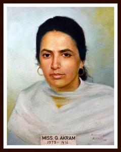 Miss Qamar Akram