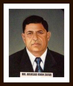 Mr Arjasab Khan Zafar
