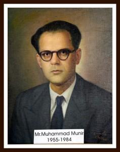 Mr M Munir