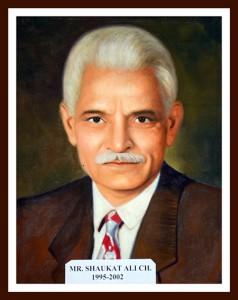 Mr Shaukat Ali