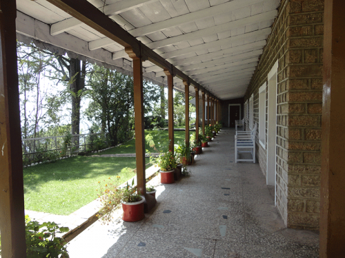 Thurley Hospital Corridor