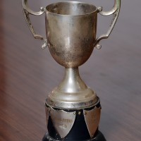 1950s - Trophy with Names of Winners: 1955 Ishtiaq Ahmad & 1957 F A Cheema