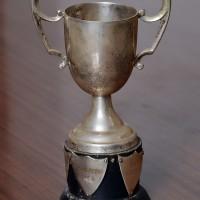 1950s - Trophy with Names of Winners: 1955 Ishtiaq Ahmad & 1957 F A Cheema