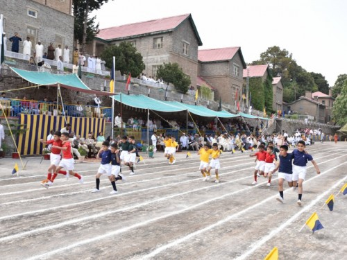 Sports Event at Junior School, 2017