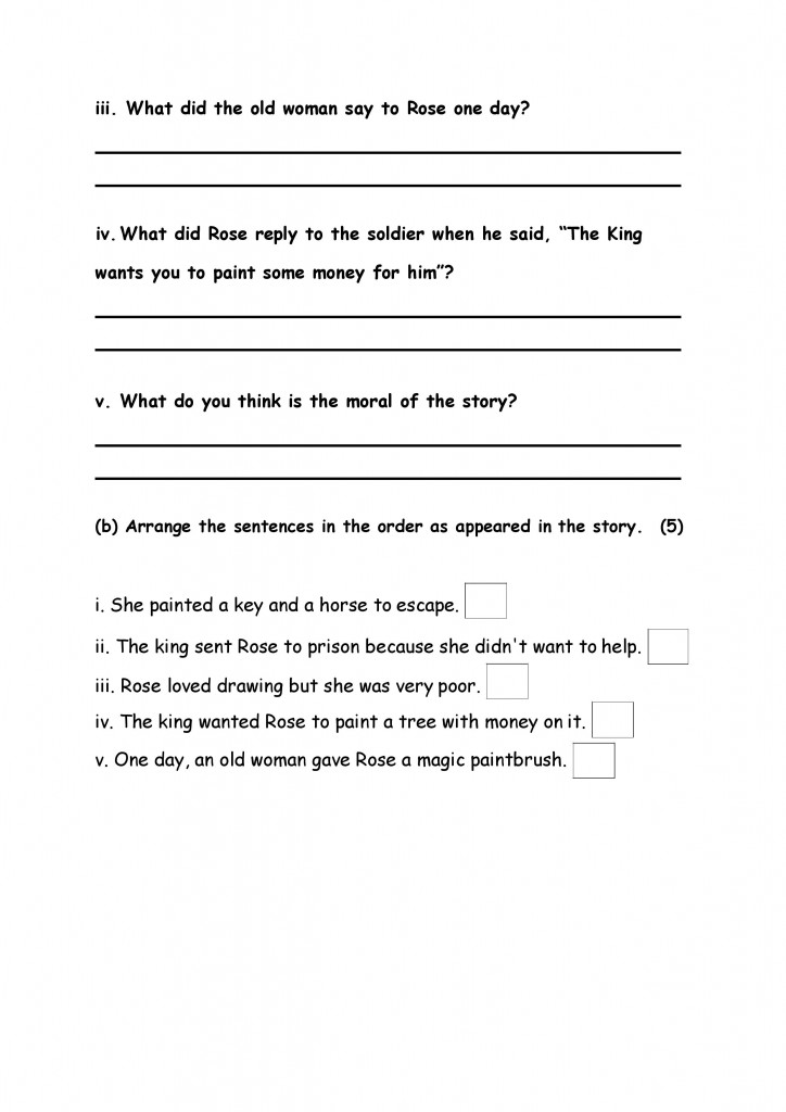 English Model Paper 5-page-004