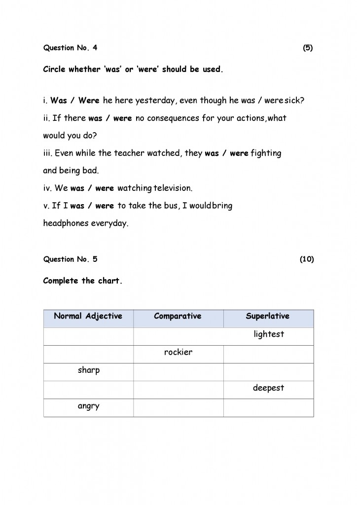 English Model Paper 5-page-006