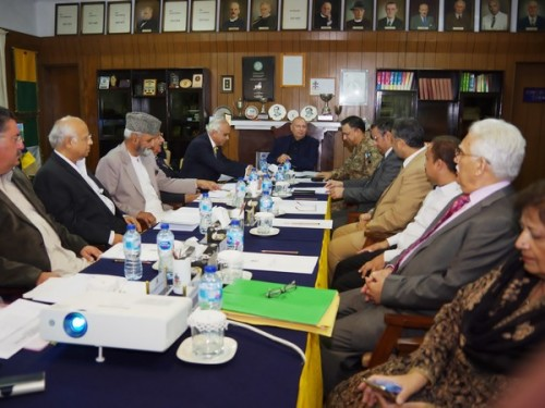 Meeting of the Board of Governors held at GG, 2019